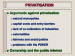 privatisation90