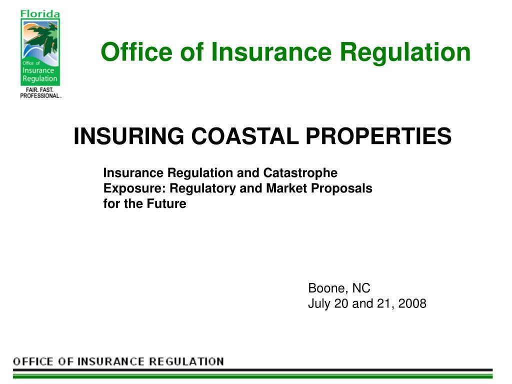 office of insurance regulation l.