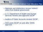 statewide indirect cost allocation plan5