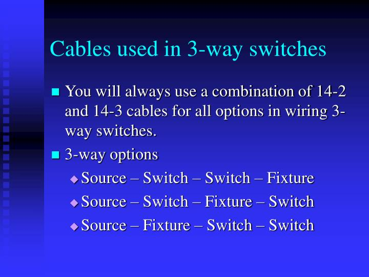 PPT Three Way Switches PowerPoint Presentation ID476433 - 3 Way Switch Options