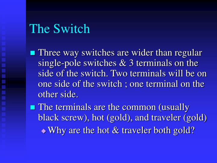 PPT - Three Way Switches PowerPoint Presentation - ID:476433