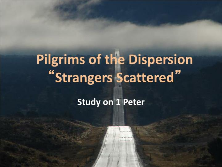 pilgrims of the dispersion strangers scattered n.