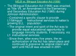 nclb vs bilingual education act 1968