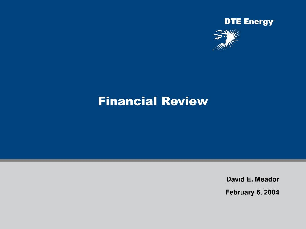 financial review l.