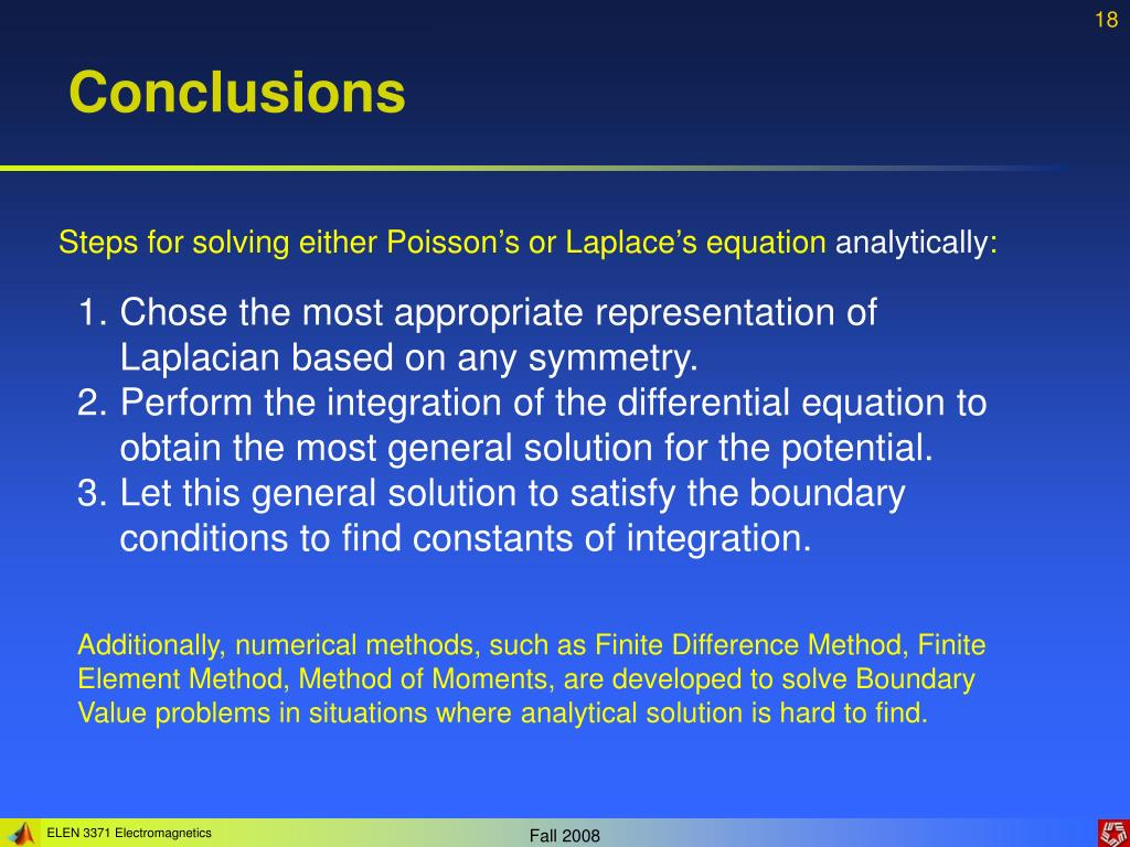 PPT - Lecture 4: Boundary Value Problems PowerPoint