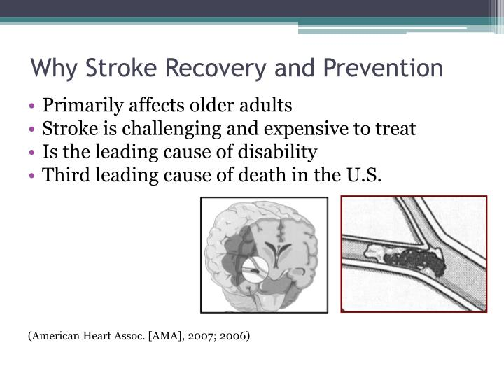 Why Stroke Recovery and Prevention