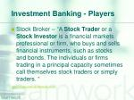investment banking players5