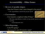 accountability other issues16