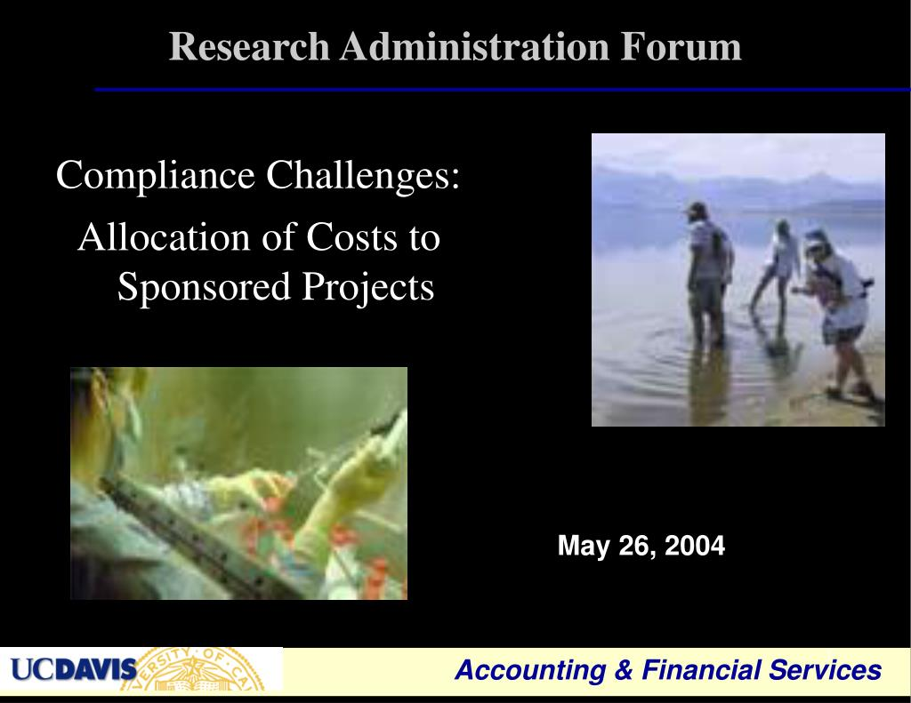 research administration forum l.