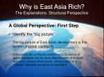 why is east asia rich the explanations structural perspective37