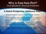 why is east asia rich the explanations structural perspective38