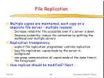 file replication