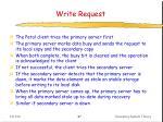 write request