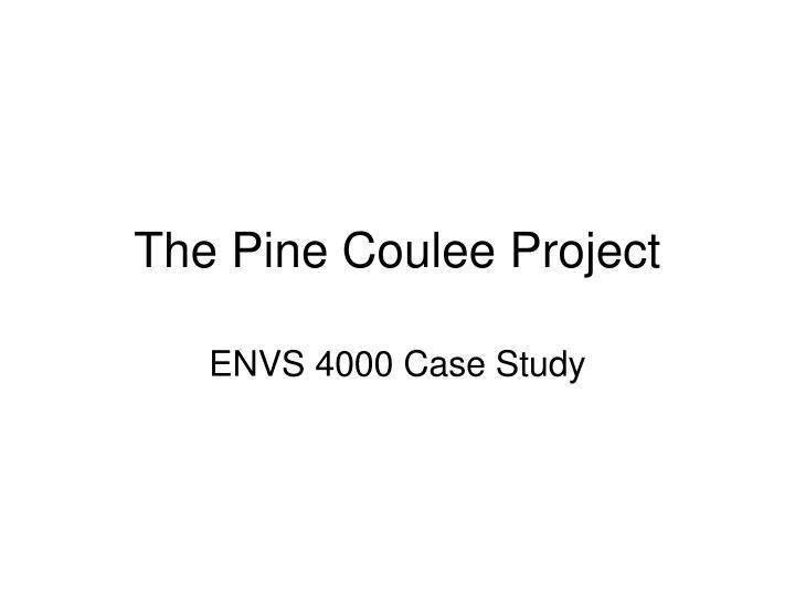 envs project