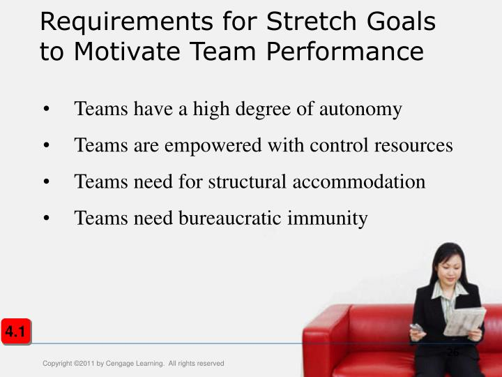 Requirements for Stretch Goals