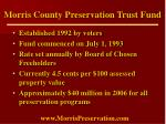 morris county preservation trust fund5