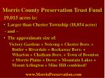 morris county preservation trust fund9