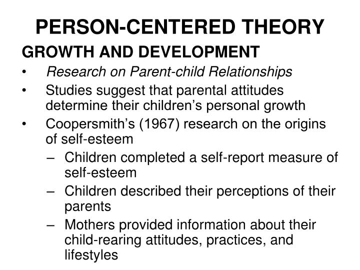cbt and person centered theory Person-centered therapy is the application of the person-centered approach to the therapy situation other applications include a theory of personality, interpersonal relations, education, nursing, cross-cultural relations and other helping professions and situations.