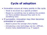 cycle of adoption