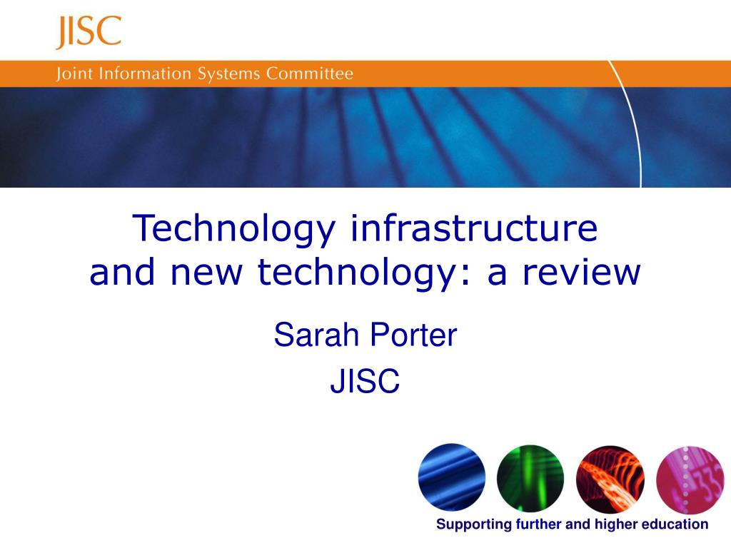 technology infrastructure and new technology a review l.