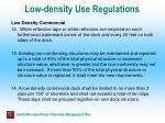 low density use regulations55