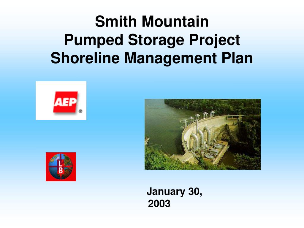 smith mountain pumped storage project shoreline management plan l.