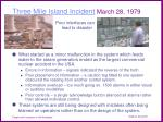 three mile island incident march 28 1979