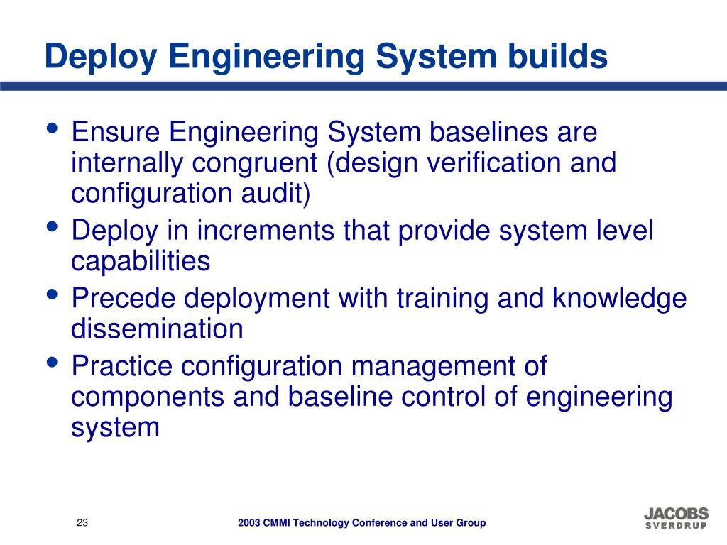 Deploy Engineering System builds