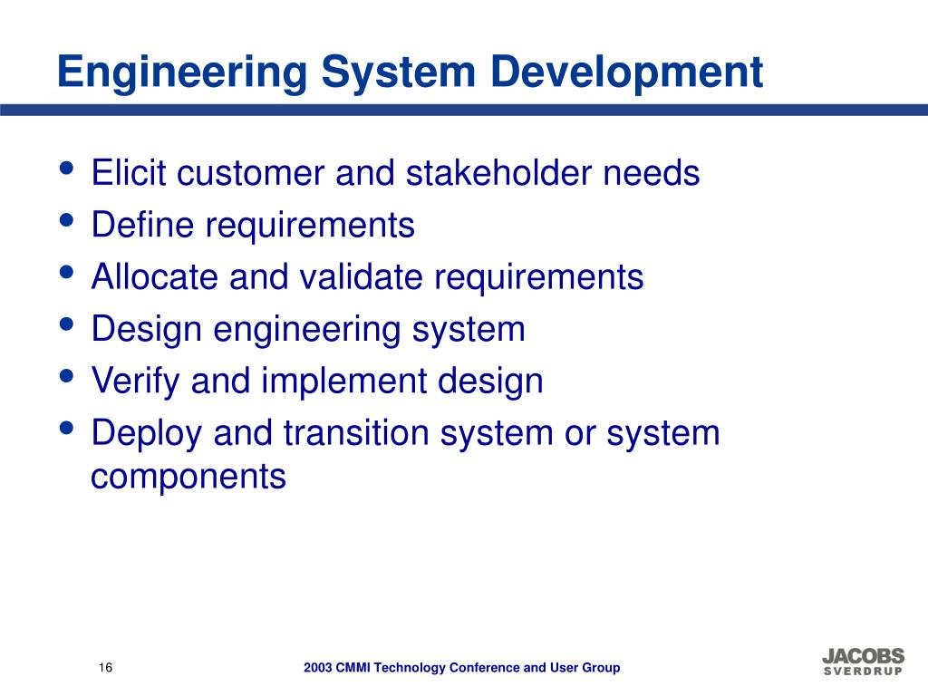 Engineering System Development