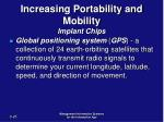 increasing portability and mobility implant chips25