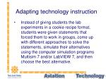 adapting technology instruction19