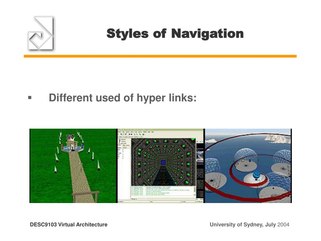 Styles of Navigation