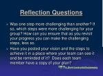 reflection questions19