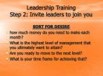 leadership training step 2 invite leaders to join you11
