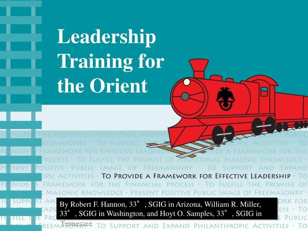 leadership training for the orient l.