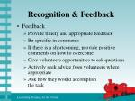 recognition feedback23