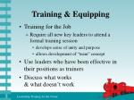 training equipping8