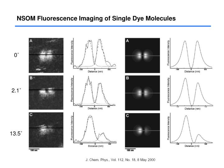 NSOM Fluorescence Imaging of Single Dye Molecules
