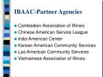 ibaac partner agencies
