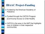 ibaac project funding
