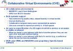 collaborative virtual environments cve