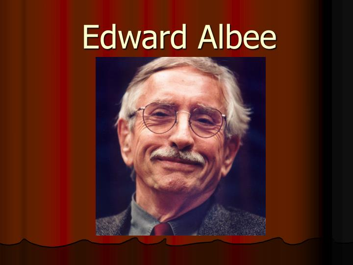 an analysis of the theme in edward albees the sandbox The symbolic self-awareness of the sandbox's characters jennifer bayot, junior through his one-act play the sandbox, edward.