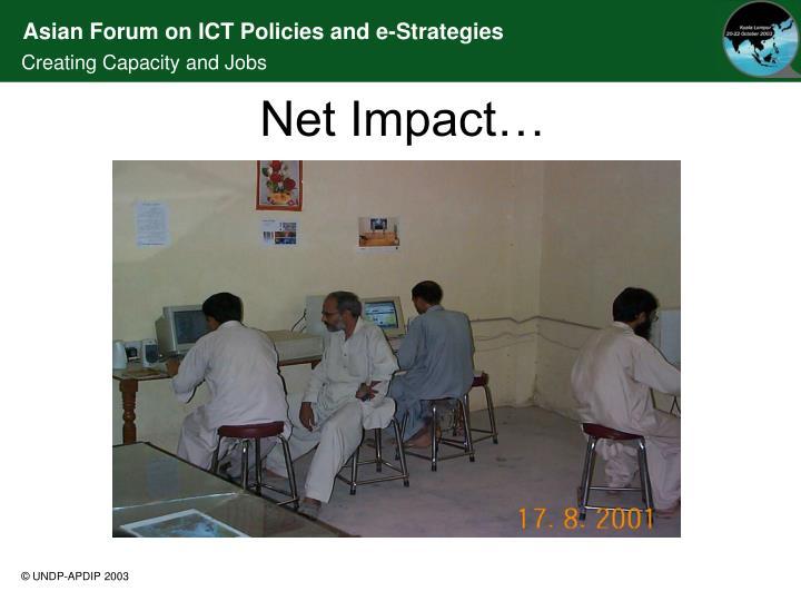Net Impact…