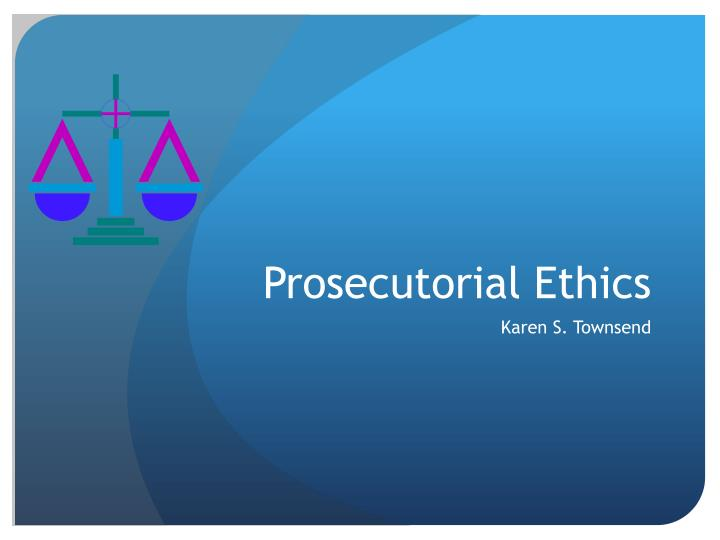 essay on prosecutorial discretion Prosecutorial discretion is the ability to decide if charges should be brought in court and to determine the nature of those charges this power can be seen in the court system in the united states, where prosecutors are very powerful as a result of prosecutorial discretion, and some other legal systems.