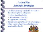 action plan systemic strategies