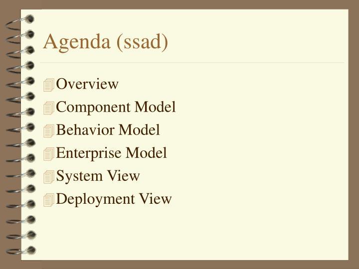Agenda (ssad)