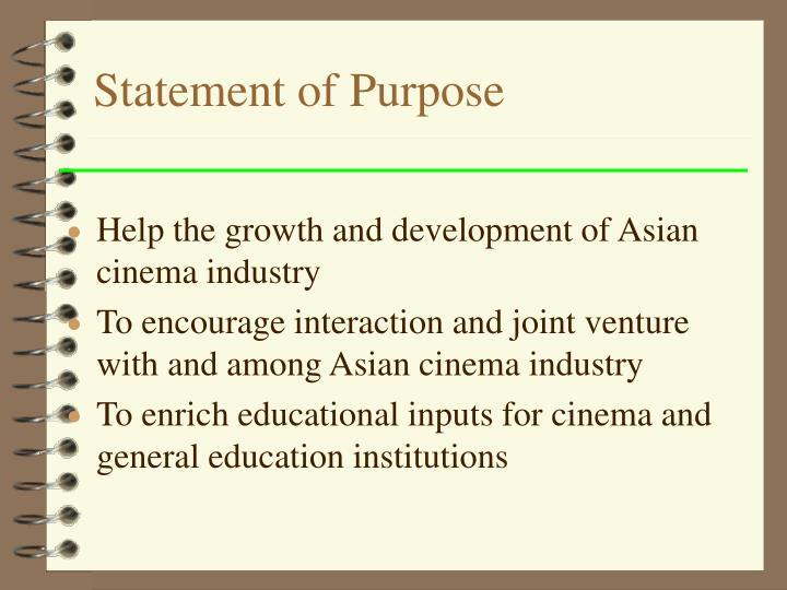 Statement of Purpose
