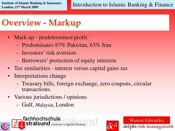 an overview of islamic banking