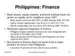 philippines finance