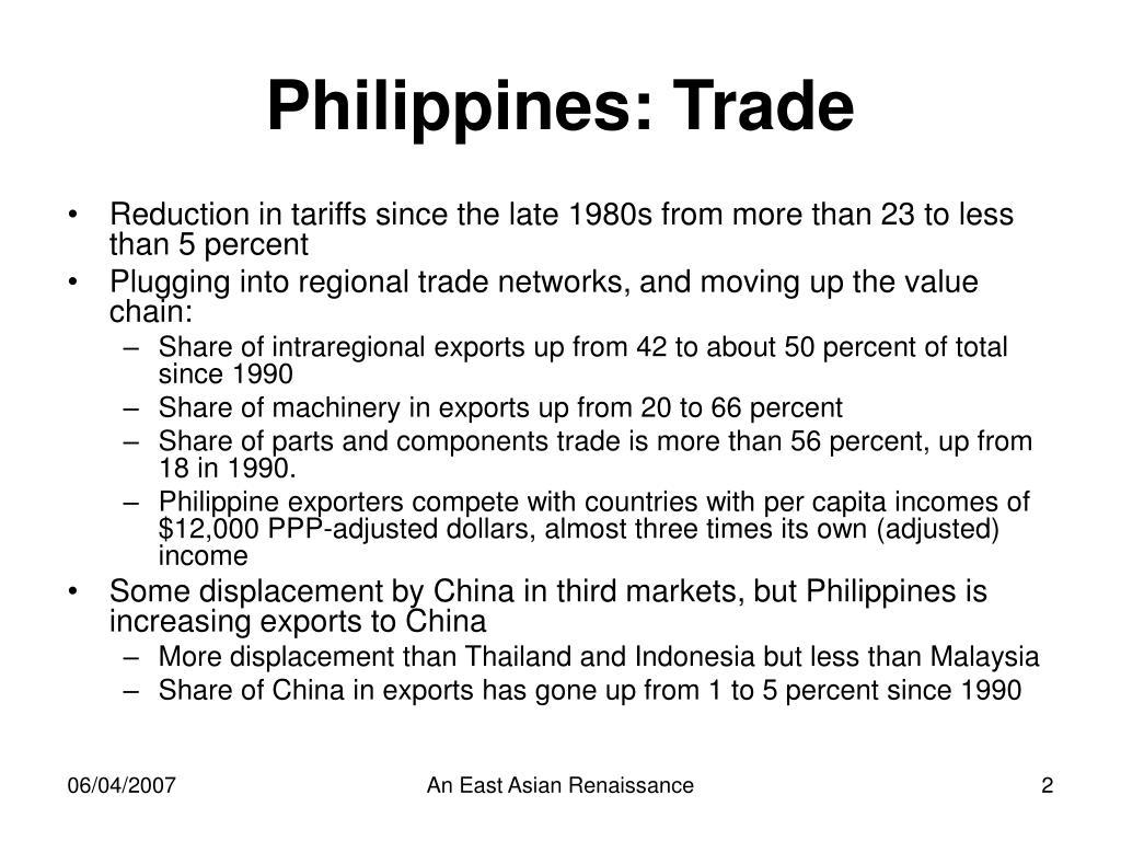 Philippines: Trade